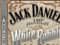 Jack Daniels White Rabbit
