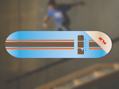 Kick Flip Skateboard Deck