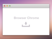 Browser Chrome PSD