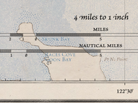 Scale Bar - Oyster Appellation Map