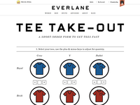 Tee Take-Out Short Order Form