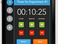 scientists timer iPhone app
