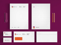 Web Architecten logo, stationery, identity design
