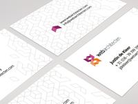 Web Architecten business cards / logo design