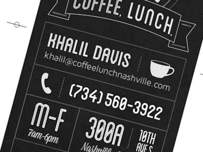 Coffee-lunch-business-card