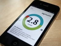 myHealth iPhone