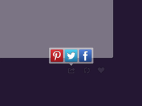Social Sharing Box (including .sketch file)