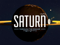 Saturn, through the ringer.