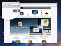 Free PSD. Browsy - Mini browser.
