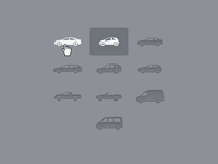 Car type icons