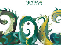 Dragon Year graphic