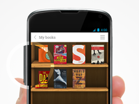 """My Books"" App UI"