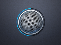 Voice Record Button