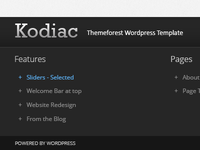 Kodiac - Wordpress Creative Theme