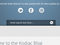 Kodiac Wordpress Creative Theme Blog view