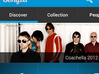 Songza Re-imagined - Main