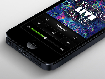 Spotify on iPhone 5