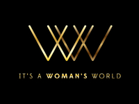 It's a Woman's World - logo