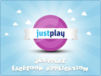 JustPlay Facebook application