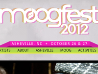 Moogfest 2012 Website & Branding