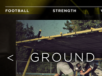 Football & Strength Equip. Website