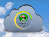 Upload In The Cloud (freebie)