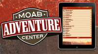 Portofolio Shot-Moab Adventure Center Mobile Site