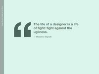 Design Quotes Display