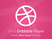 I'm a Dribbble Player