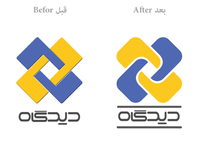 Chargoon Didgah Logo Redesign
