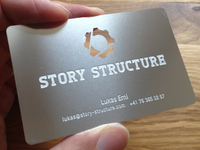 Story Structure - business card