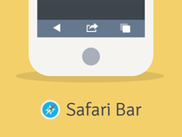 Safari Web Browser Bar
