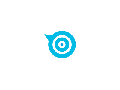 Twitter-marketing-target-logo-design