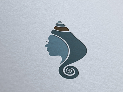 Shell-woman-logo-design