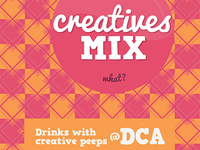 Creatives Mix Poster