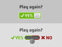 Yes / No Toggles