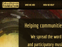 Call and Response Foundation Homepage