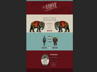 2013 ADDY Awards Website