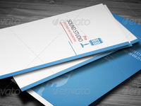 Sound Clean Corporate Busines Card