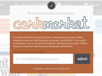 Introducing Corkmarket