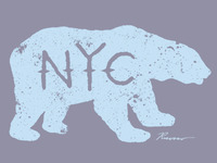 Polar Bear NYC Graphic Tee
