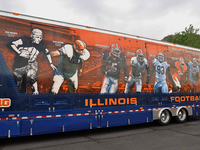 2012 Illinois Football Equipment Trailer