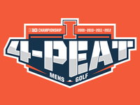 4-Peat Illinois Logo
