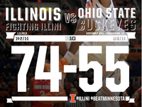 Illinois Wins Game Graphic