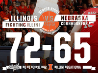 Final Score Graphic vs. Nebraska