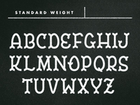 Untitled Typeface, updated