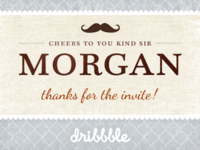 Thanks for the invite Morgan Knutson :)