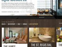 Sneak Spa Hotels Site