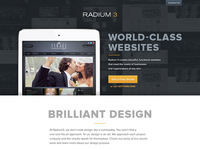 Radium3 Site Design