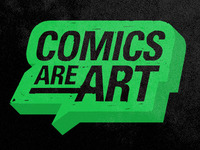 Comics -are- Art